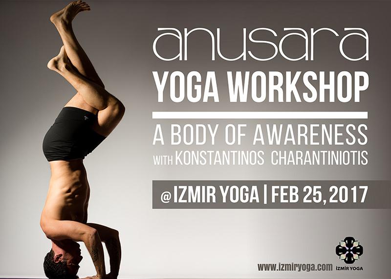 Anusara Yoga Workshop Konstantinos Charantiniotis